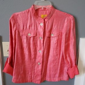 Ruby Road coral blouse